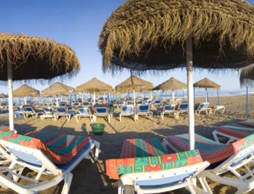 Restaurante en la playa en Torremolinos